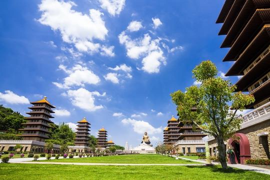 Bảo tàng Phật giáo Phật Quang Sơn (Cao Hùng, Đài Loan) với quy mô lớn