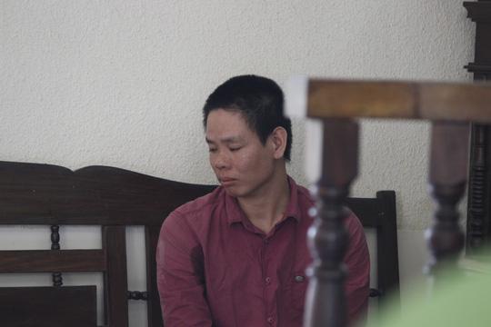 Bị cáo Trịnh Văn Vàng tại toà