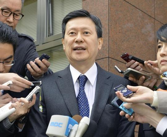 Cựu Phó Chủ tịch Lotte Holdings Nhật Bản Shin Dong-joo Ảnh: Kyodo