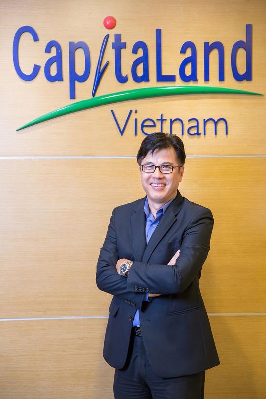 Ông Chen Lian Pang - Tổng Giám đốc CapitaLand Việt Nam