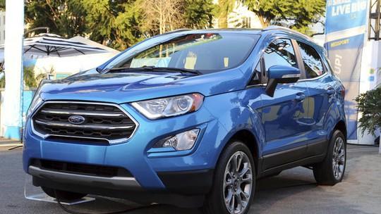 Ford EcoSport 2018 chuẩn bị ra mắt trong vài tuần tới