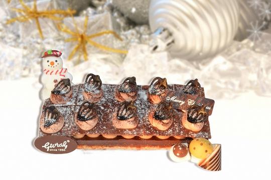 Givral nồng nàn hương bánh Giáng sinh