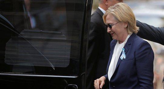 Bà Hillary Clinton tuyên bố đang hồi phục và sẽ sớm quay trở lại đường đua vào Nhà Trắng Ảnh: Reuters