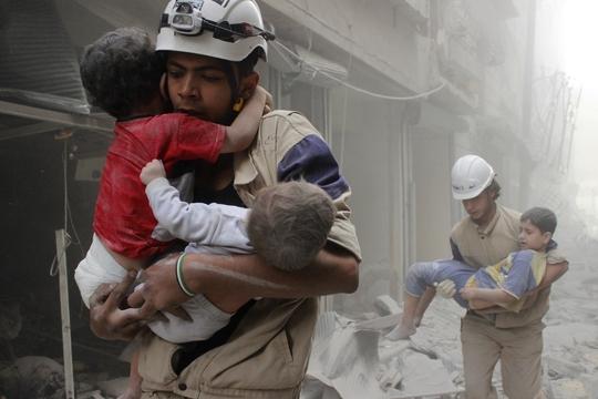 Các bên liên quan trong cuộc xung đột ở Syria liên tục tranh cãi trong khi người dân nước này tiếp tục hứng chịu đau thươngẢnh: REUTERS