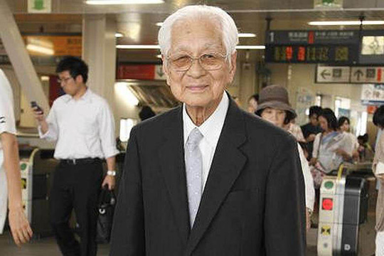 Cụ Fukutaro Fukui chỉ chịu về hưu ở tuổi 101Ảnh: NIKKEI ASIAN REVIEW