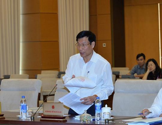 Bộ trưởng Bộ Văn hóa - Thể thao và Du lịch Nguyễn Ngọc Thiện cho biết việc xây dựng Luật Du lịch (sửa đổi) là rất cấp thiết. Ảnh: Nguyễn Nam