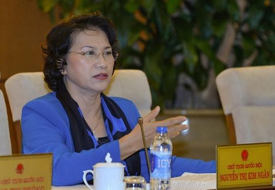 Chủ tịch Quốc hội Nguyễn Thị Kim Ngân khẳng định cần thiết ban hành Luật Hỗ trợ doanh nghiệp nhỏ và vừa