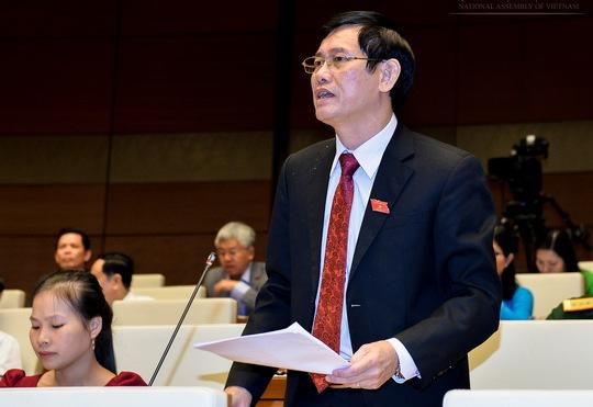 Theo đại biểu Nguyễn Ngọc Phương, chương trình xây dựng nông thôn mới đã tạo đột phá đáng kể. Ảnh: Văn Bình