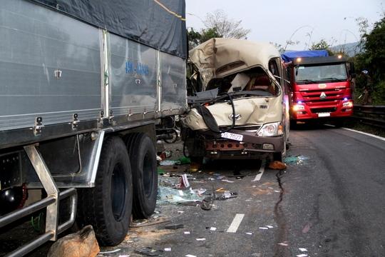 Nhiều vụ tai nạn giao thông đã xảy ra ở đèo Bảo Lộc