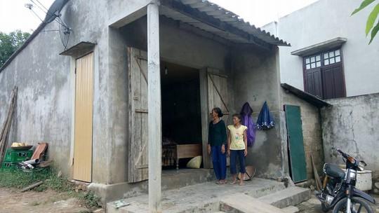 Một trong những hộ dân thuộc thôn Trung Thôn