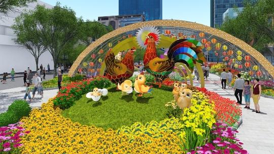 Gia đình nhà gà vui nhộn ở Cổng Gà