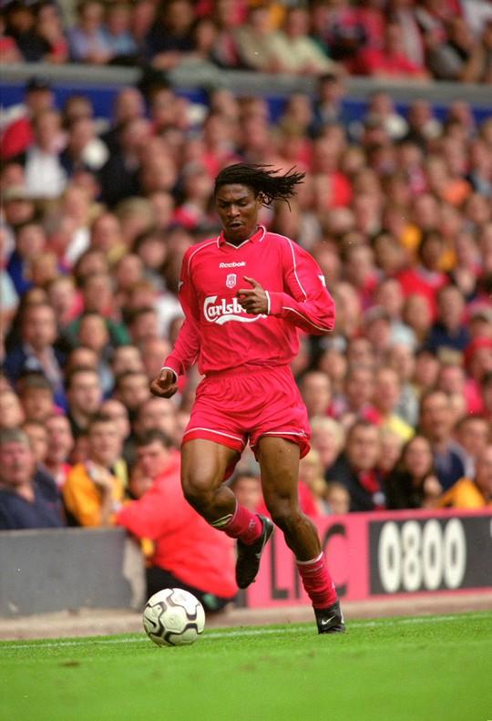 Song khoác áo Liverpool năm 1999, ra sân 34 lần