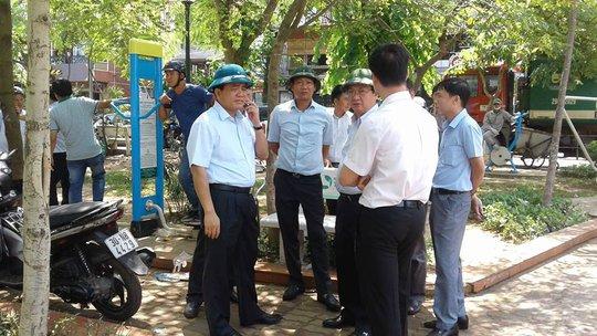 Chủ tịch Hà Nội chỉ huy tác chiến tại hiện trường