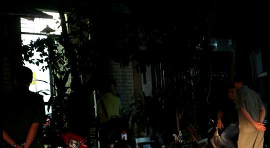 Ngôi nhà nơi xảy ra vụ việc
