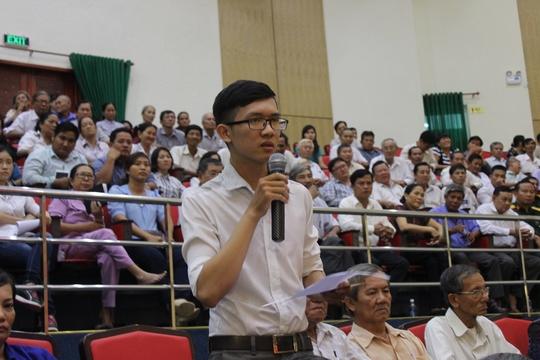 Cử tri Trần Thái Châu phản ánh việc bản thân trúng tuyển viên chức 1 năm vẫn chưa có quyết định tuyển dụng