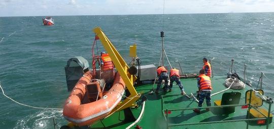 Chiếc tàu gặp nạn đã được lai kéo một cách an toàn về bến cảng do Bộ Tư lệnh Vùng Cảnh sát biển 4 quản lý tại Phú Quốc.