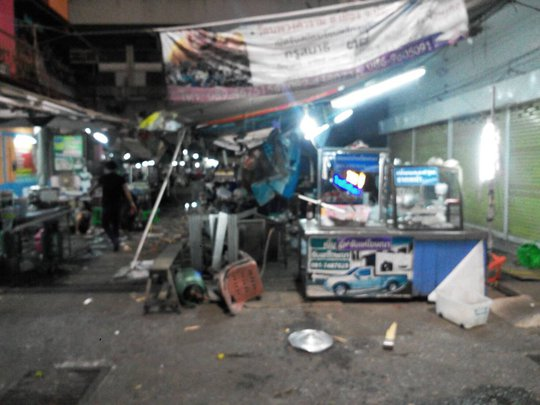 Thái Lan: Nổ bom tại chợ đêm, 19 người thương vong