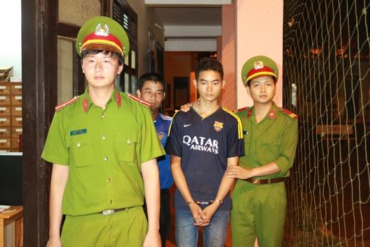 Duy bị Cơ quan CSĐT Công an Đắk Lắk bắt giữ