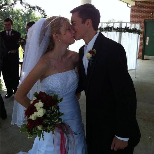 Cặp vợ chồng Dalton và Katie Prager. Ảnh: Youcaring, Facebook