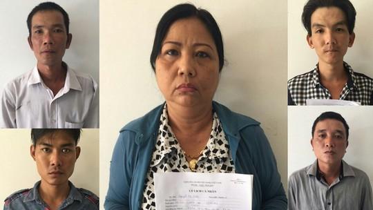 Nguyễn Thị Thảo cùng 4 đàn em thân cận