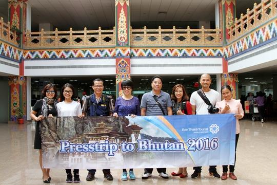 Đoàn BenThanh Tourist tại Bhutan