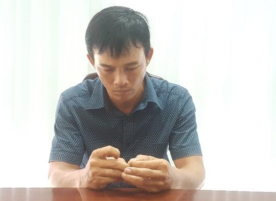 Phạm Ngọc Hiếu vừa được di lý từ Hậu Giang về Đà Nẵng để phục vụ công tác điều tra