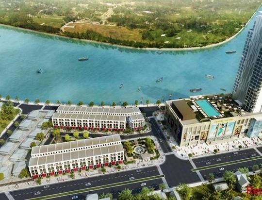 Mô hình Trung tâm thương mại Vicom Plaza Xuân Khánh