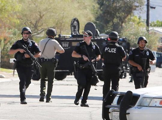 Lực lượng cảnh sát được điều động sau vụ việc. Ảnh: Reuters
