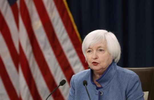 Chủ tịch FED, bà Janet Yellen. Ảnh: REUTERS