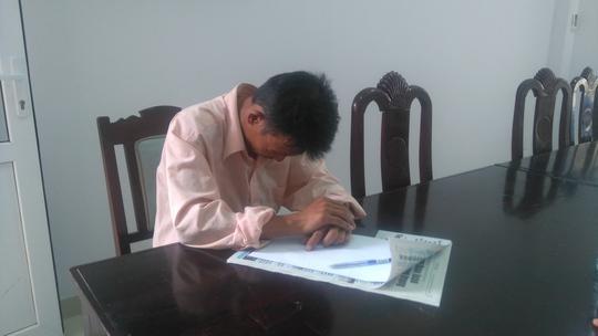 Ông Quang tỏ ý hối hận vì đe dọa vợ quá mức