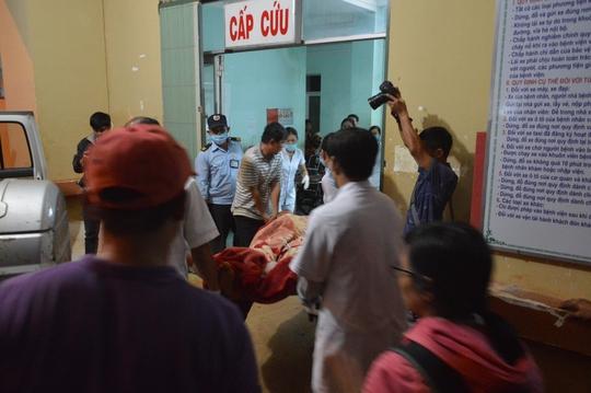 Các bệnh nhân được chuyển đến BV Đa khoa tỉnh Đắk Nông cấp cứu