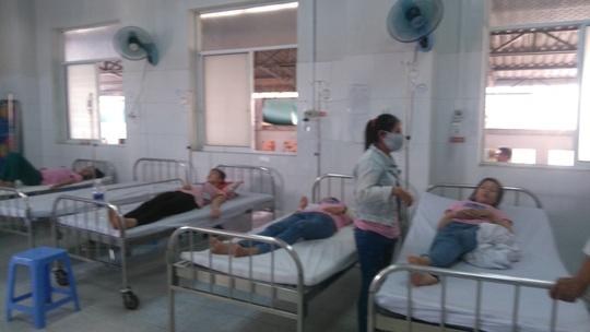 Nhiều công nhân phải nhập viện điều trị