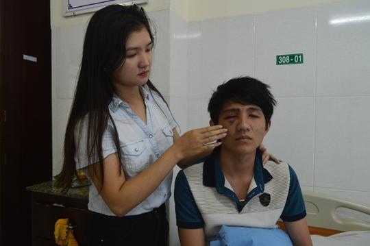 Anh Triệu Thái Nguyên tại Bệnh viện Đa khoa Thiện Hạnh