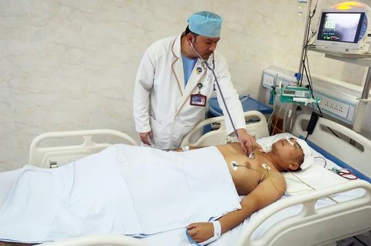 Nhờ phẫu thuật kịp thời, bệnh nhân đã qua giai đoạn nguy kịch.