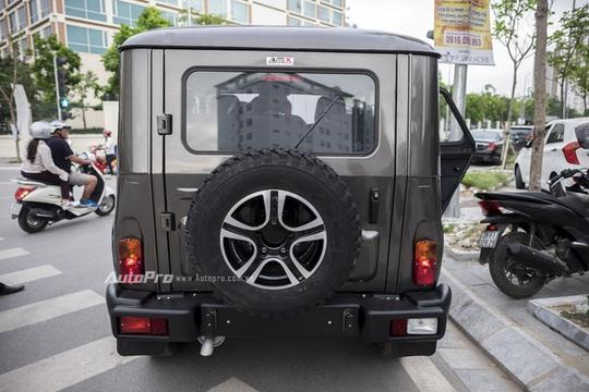 Chi tiết xe SUV Uaz Hunter rẻ hơn Kia Morning tại Việt Nam
