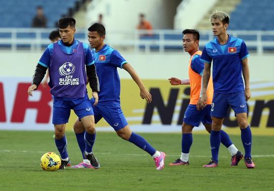 Tinh thần thoải mái cũng là cách các tuyển thủ Việt Nam muốn bộc lộ nhằm vượt qua sức ép tâm lí