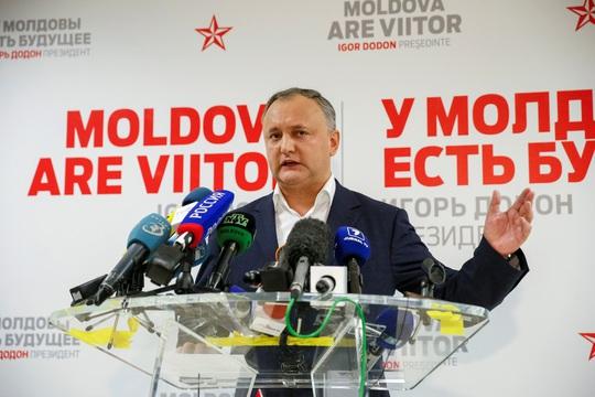 Ông Igor Dodon, tổng thống đắc cử Moldova Ảnh: Reuters