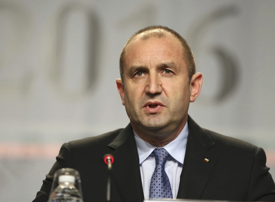 Ông Rumen Radev, tổng thống đắc cử Bulgaria Ảnh: Reuters