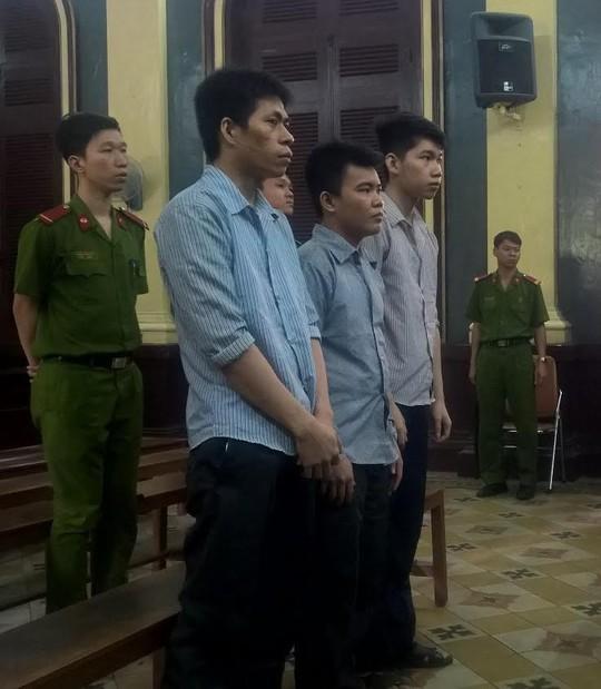 Các cựu bảo vệ tại phiên tòa