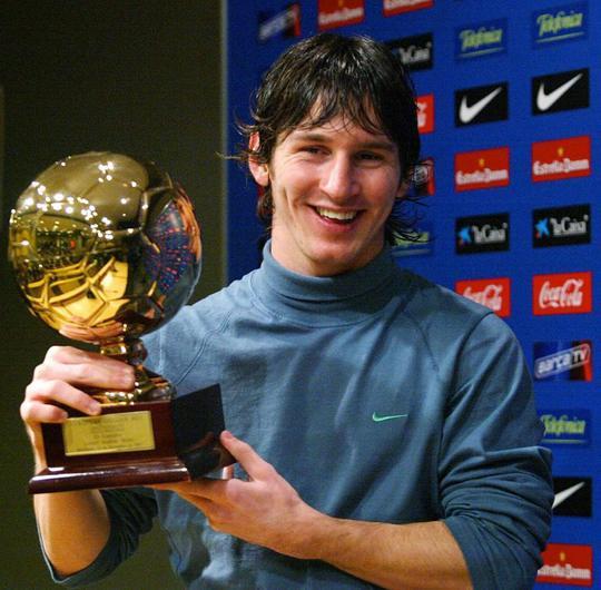 Messi và Pogba là 2 trong số những Cậu bé vàng giữ được phong độ sau khi nhận giải