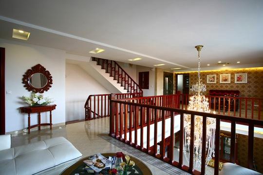 Ngôi nhà có thiết kế mở ra những khoảng trời riêng