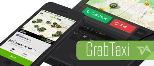 Ứng dụng đặt xe trên di động Grab đang thu hút được vốn đầu tư ngày càng nhiều hơn.