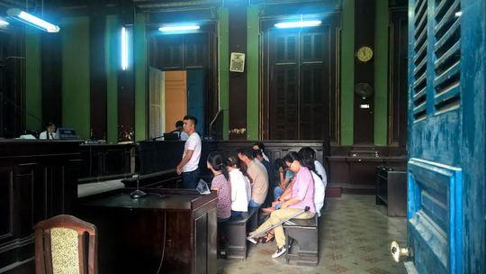 Văn Tiến Tú và các đồng phạm tại phiên phúc thẩm