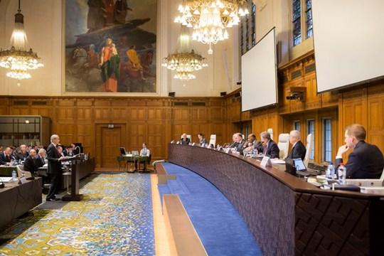 Tòa Trọng tài Thường trực (PCA) ra phán quyết gây chú ý về biển Đông. Ảnh: PCA