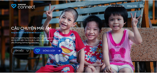 "Ra mắt dự án ""Samsung Connect"""