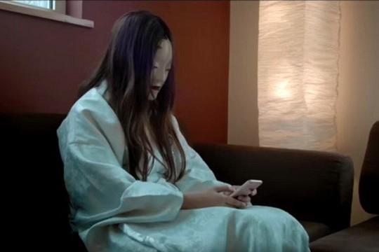Cảnh trong phim Bắt ma Nhật kiểu Thái