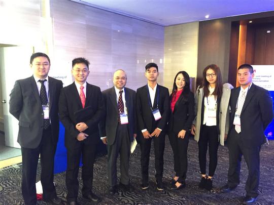 Đoàn đại học Tân Tạo tham dự Hội nghị Busan, Hàn Quốc