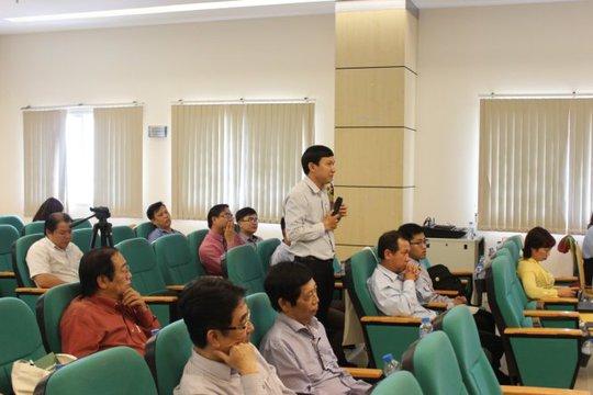 Những chia sẻ, trình bày của các báo cáo viên nhận được sự thảo luận, hỏi đáp sôi nổi từ các bác sĩ khách mời tham dự hội nghị