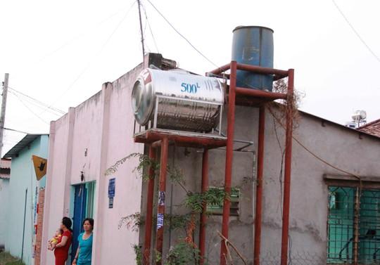 Người dân ở xã Xuân Thới Thượng, huyện Hóc Môn, TP HCM vẫn sử dụng nguồn nước từ giếng khoan