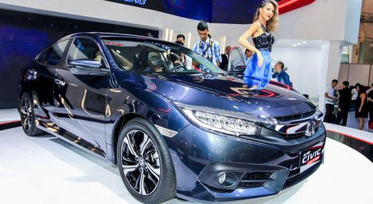 Honda Civic nổi bật tại VMS 2016 với động cơ 1.5L nhưng được tích hợp hệ thống tăng áp.